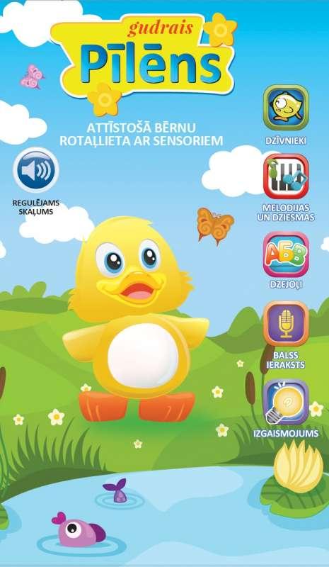 Gudrais Pīlēns interaktīvā rotaļļieta 3+ (latviešu valodā)