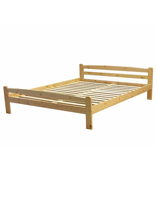 Koka gulta Hor 160×200 ar redelēm